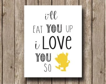 Download Popular items for ill eat you up on Etsy