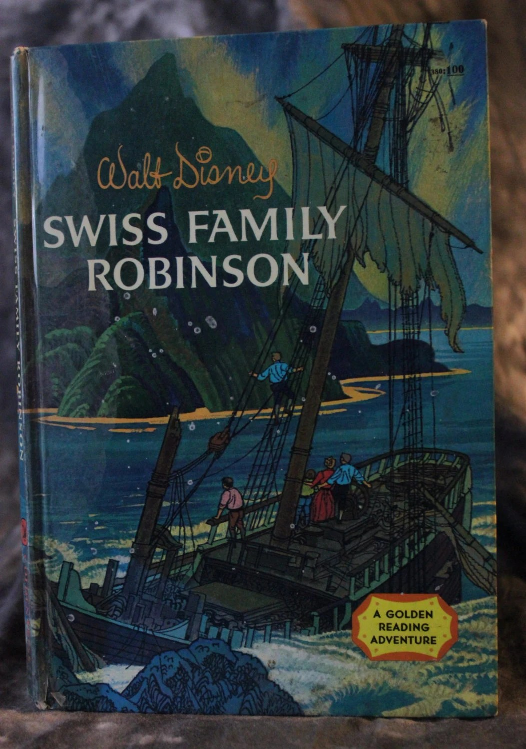Vintage Swiss Family Robinson Book By Disney By