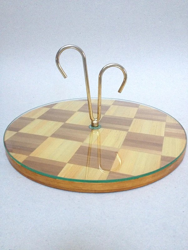 Vintage French Straw Marquetry Cheese Tray – Haute Juice