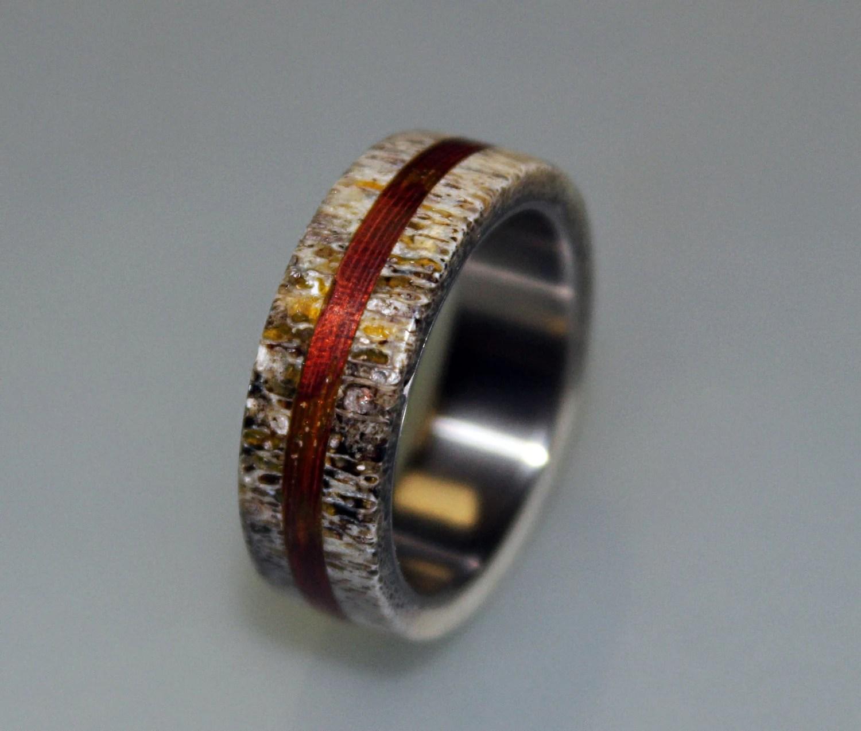 Wedding Rings Incredible Beauty Mens Wildlife Wedding Rings