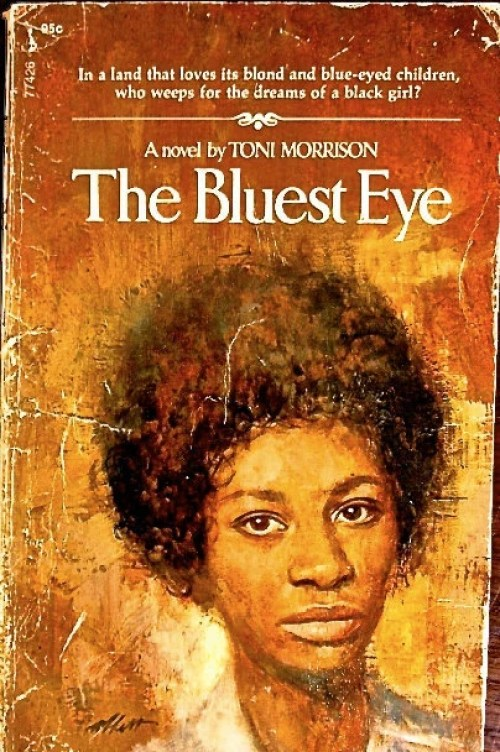 Vintage Book Cover: The Bluest Eye