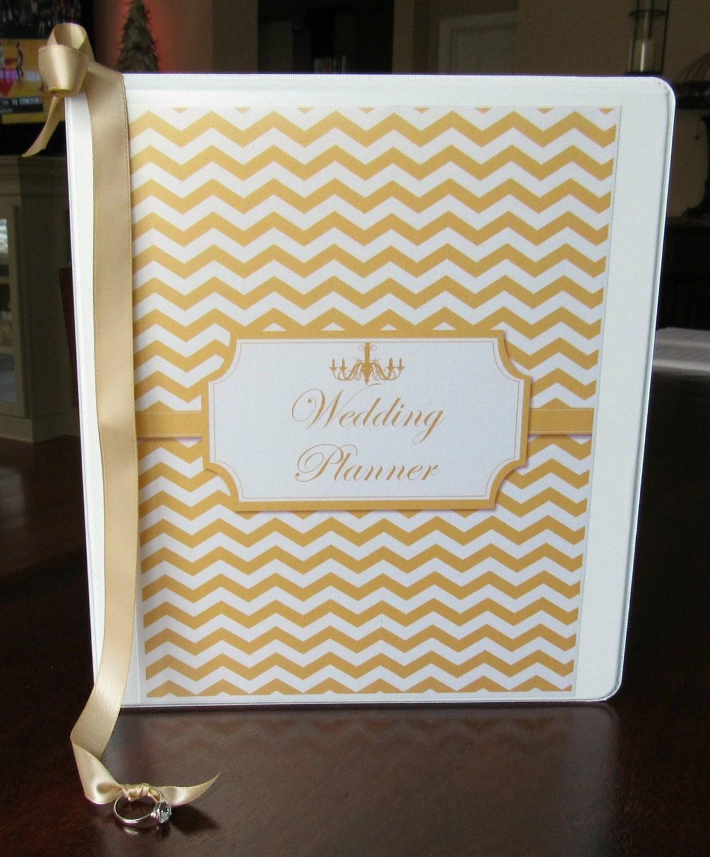 Wedding Planner Book And Wedding Organizer Deluxe Binder