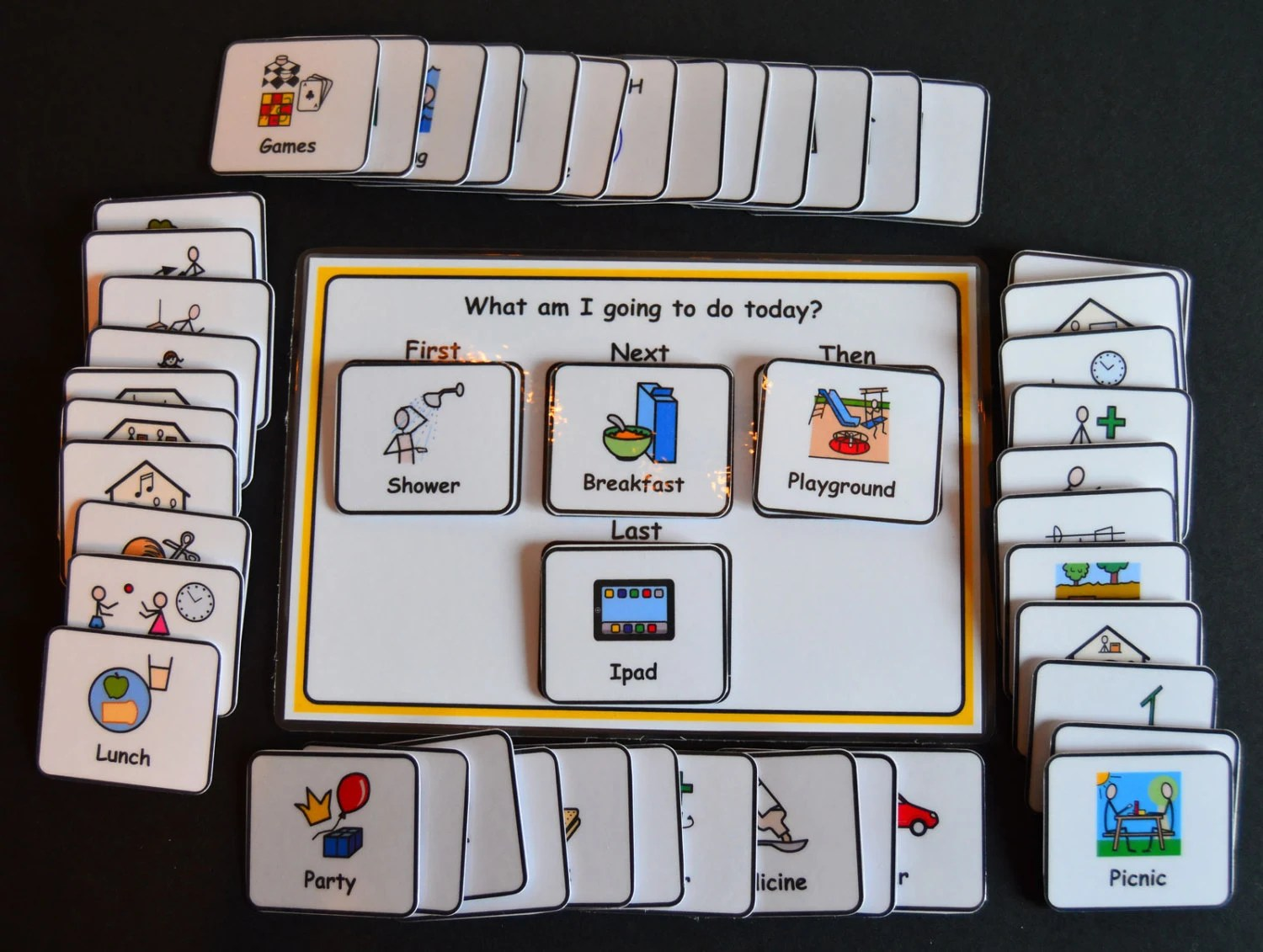4 Step Sequencing Visual Support Visual Aid For By Bornvisual