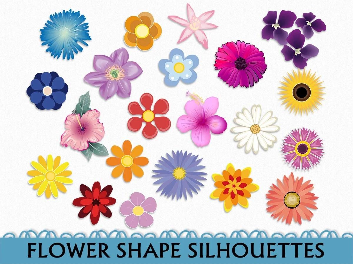 Fleurs Clip Art Fleur Graphismes Clipart Scrapbook