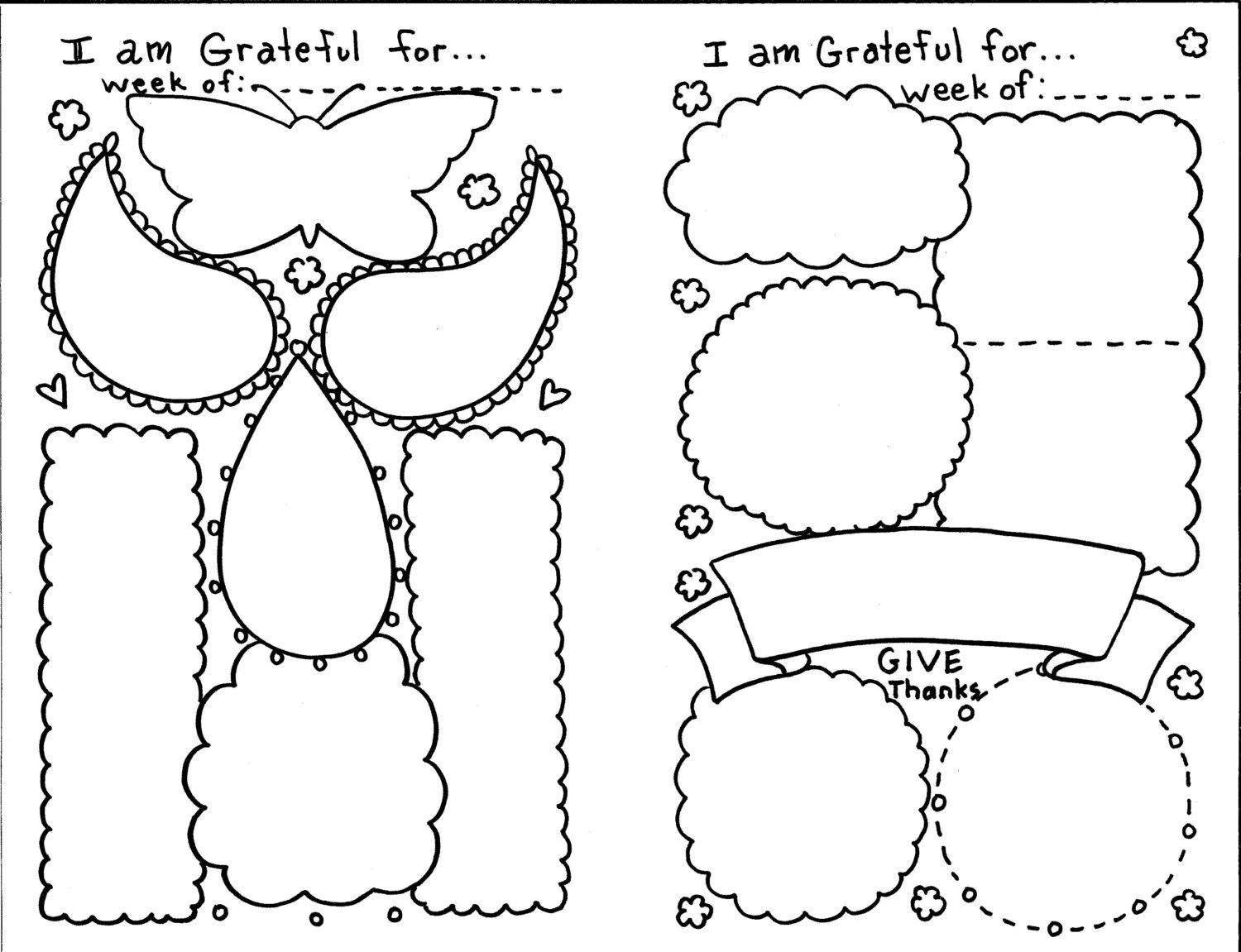 Instant Download Grateful Pages Journal Bible Study