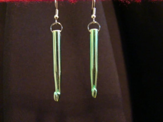 Crochet Hook Earrings