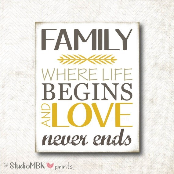 Download Items similar to Instant Download | Family where life ...
