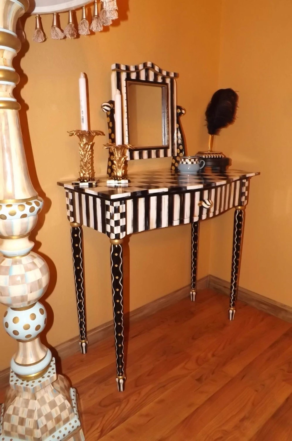Small Tall End Table
