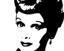 Download Popular items for lucille ball on Etsy