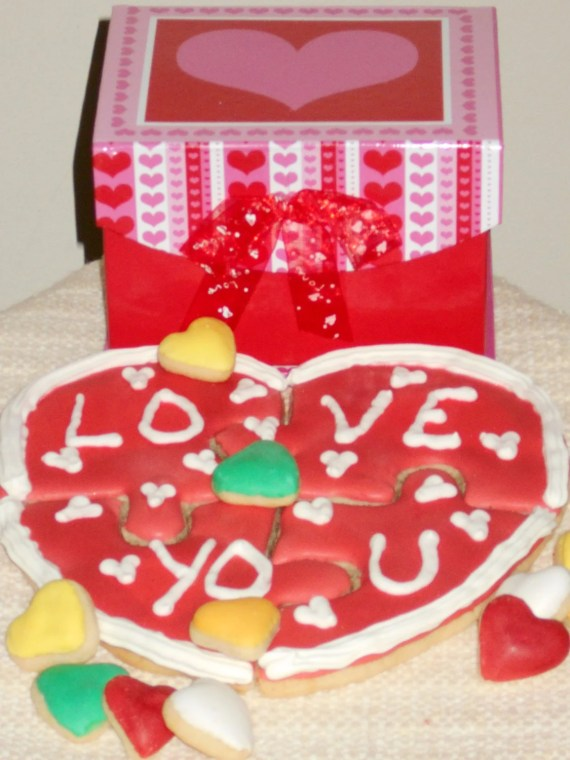 Edible Cookie Puzzle/Sugar Cookie Puzzle/Decorated Cookie Gift