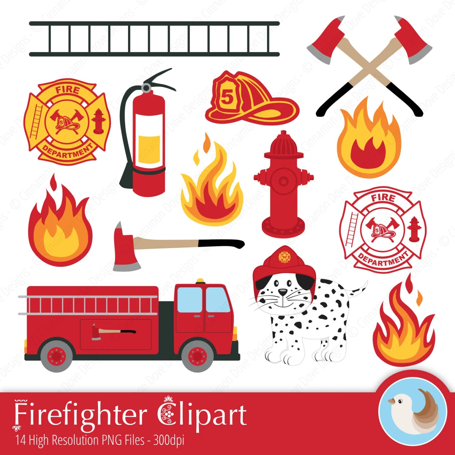 Firefighter Clipart Fireman Clipart Fire Station Fire