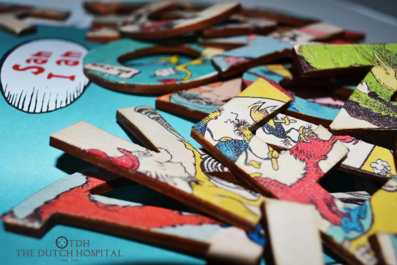 Dr Seuss S Abc Alphabet Letter Set Wooden A To Z By