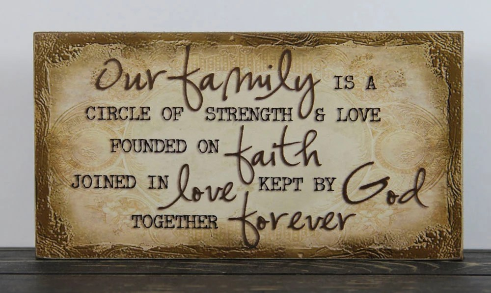 Download Our Family is a circle of strength and love by MindysGazebo