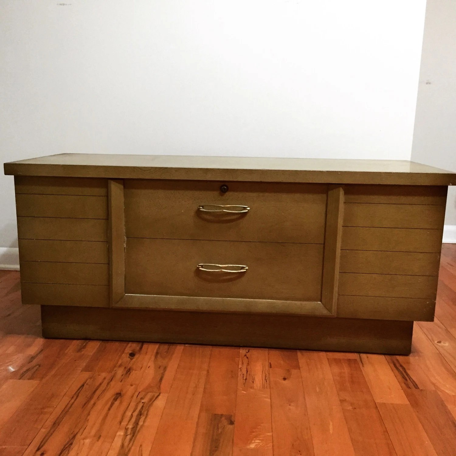 Antique 1960 The Lane Company Cedar Hope Chest By ShueBoxed