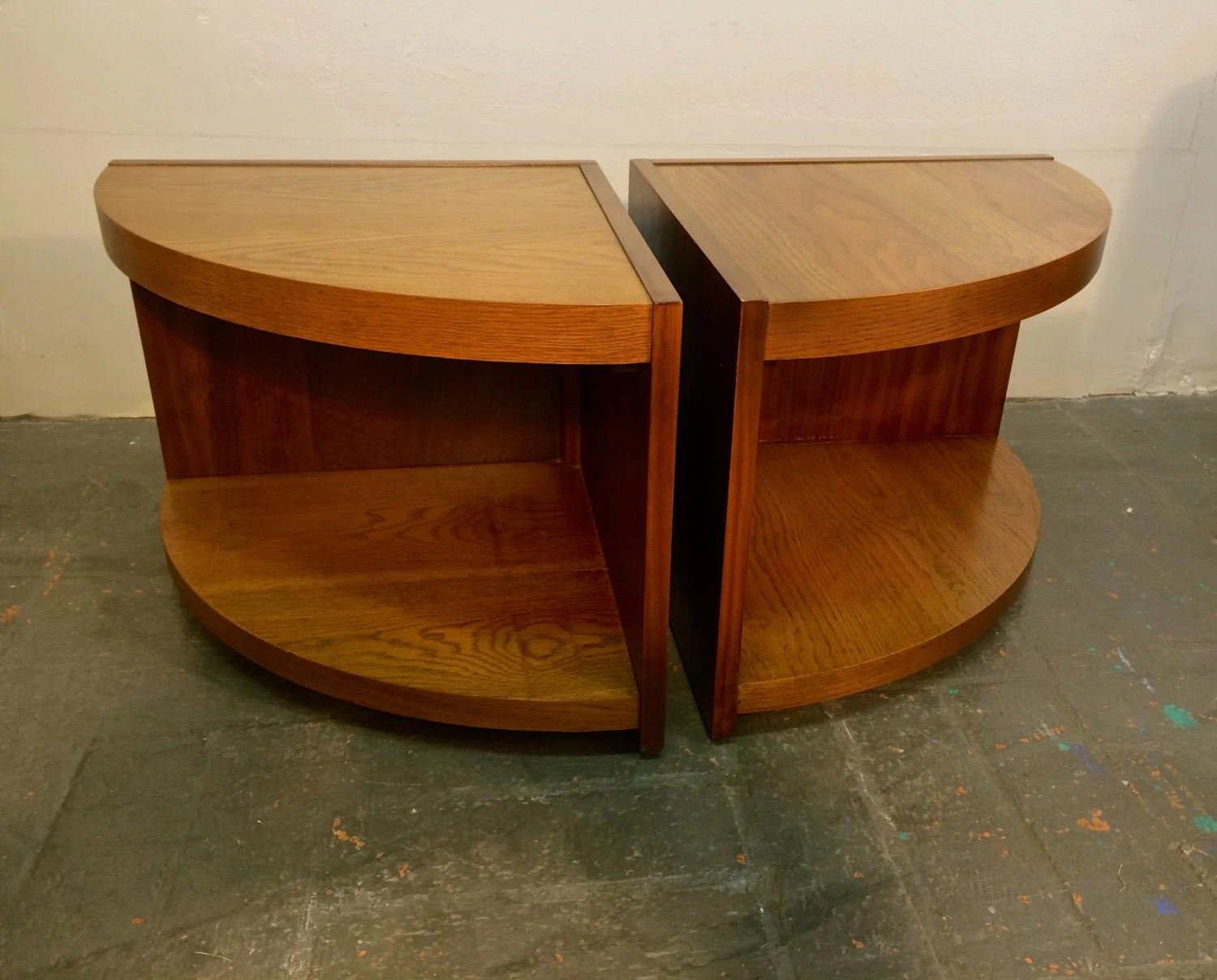 Beautiful Mid Century Lane Furniture Solid Wood End Tables Or