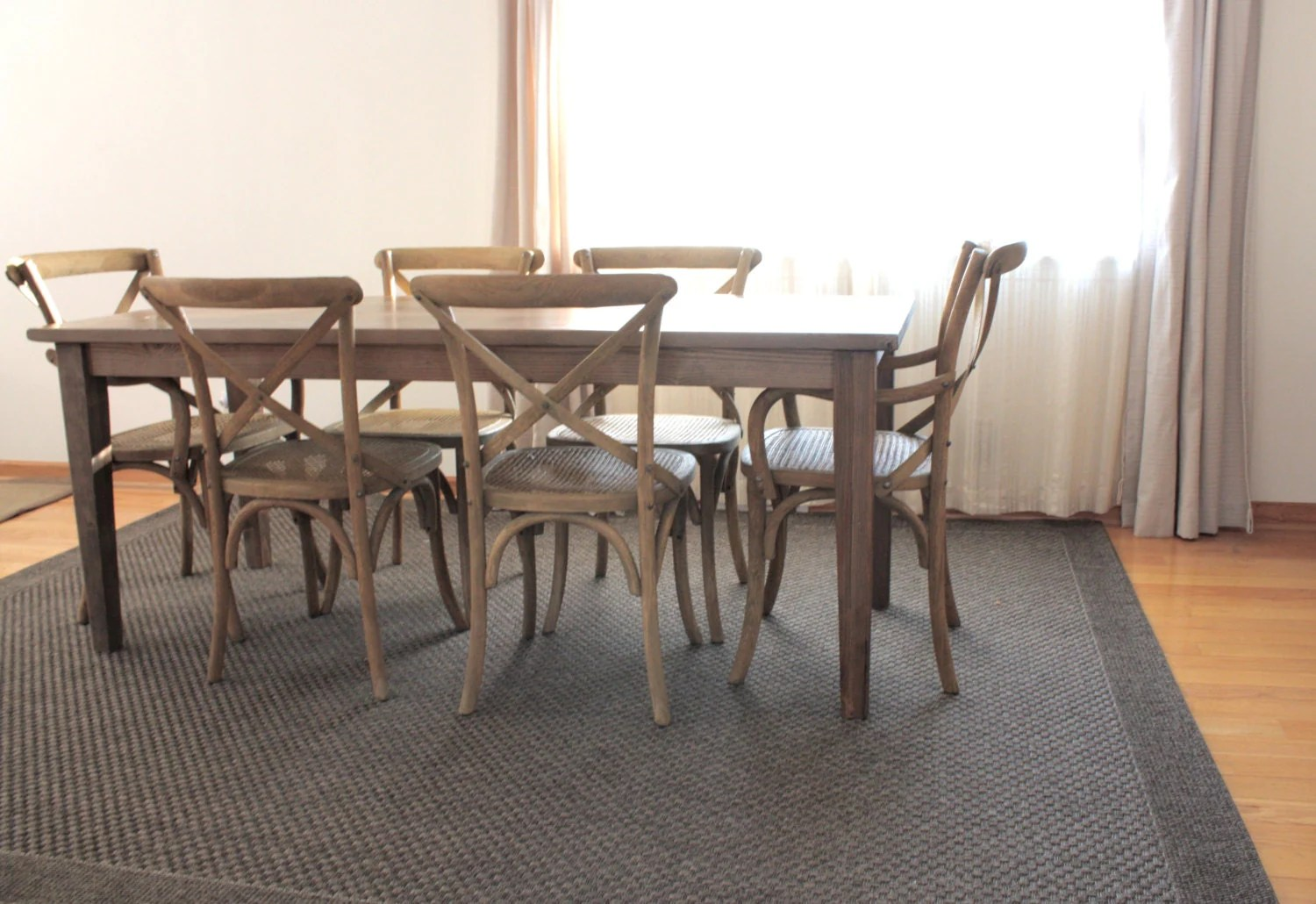 Rustic Farmhouse Dining Table Reclaimed Wood Dining Table