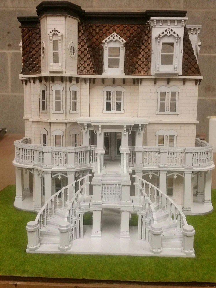 Hegeler Carus Mansion 148 Scale Dollhouse