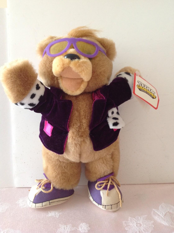 Teddy Grahams Snacks Teddy Honey Bear Plush 11 Tall W