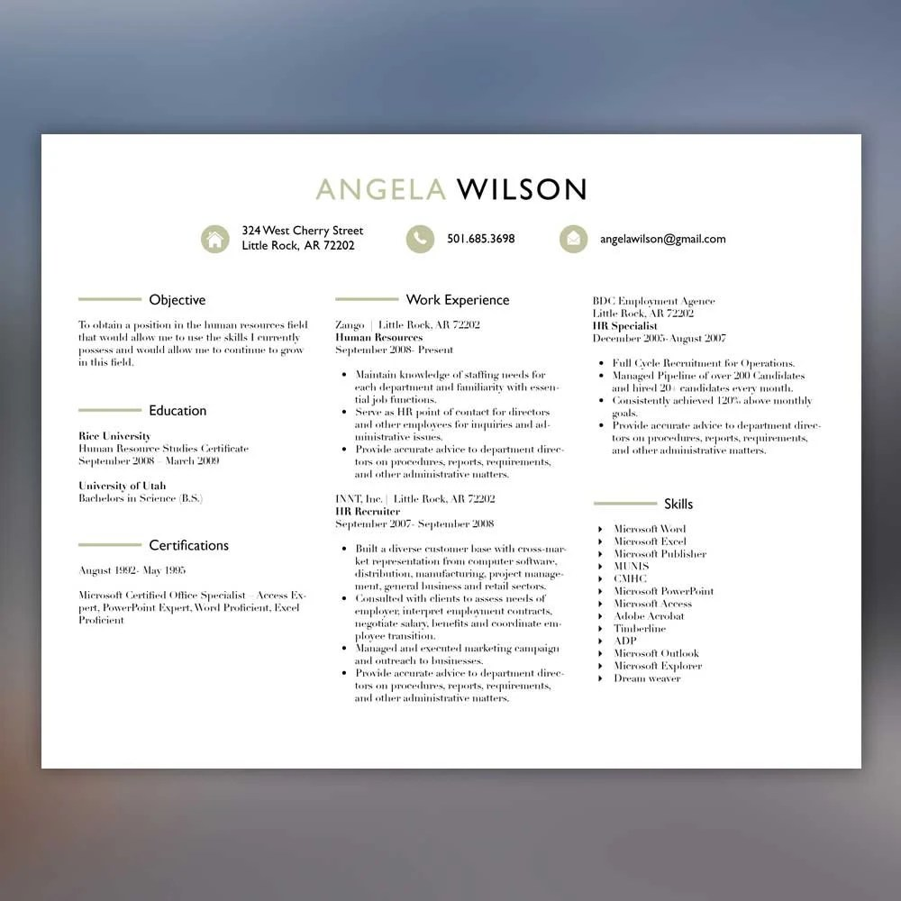 creative resume template professional resume by scribblednapkin