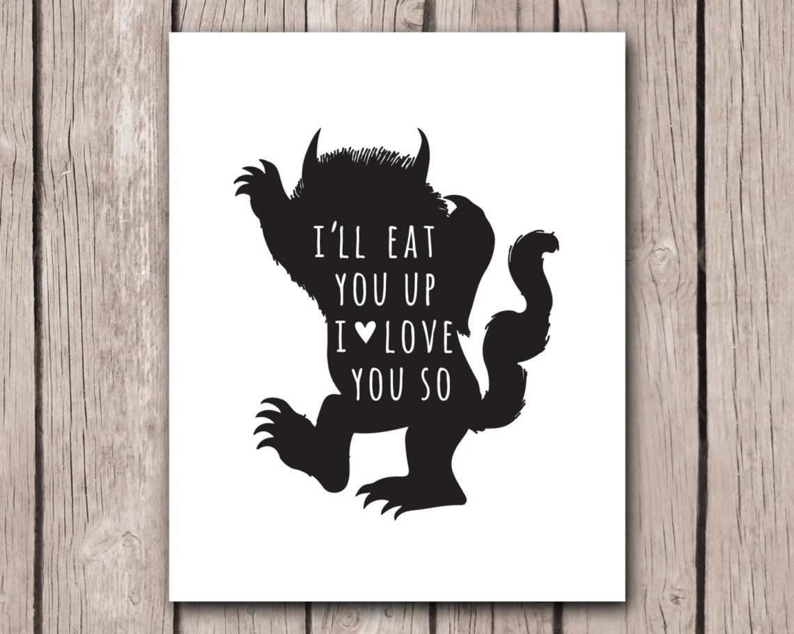 Download Where The Wild Things Are I'll Eat You Up I Love You So
