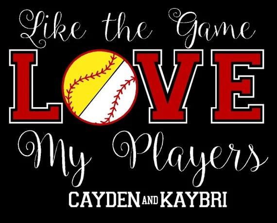 Download Custom Design Half Baseball Half Softball by ...