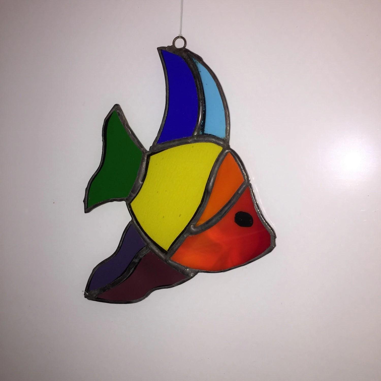 Rainbow Fish Rainbow Friends Fish Pride Sun Catcher Fish