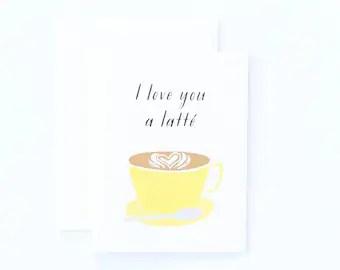 Download Latte love | Etsy