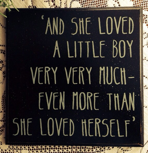 Download And she loved a little boy very very much even more than she