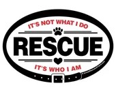 DECAL - RESCUE It's W...