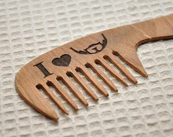 personalized wooden beard b hair accessories t for