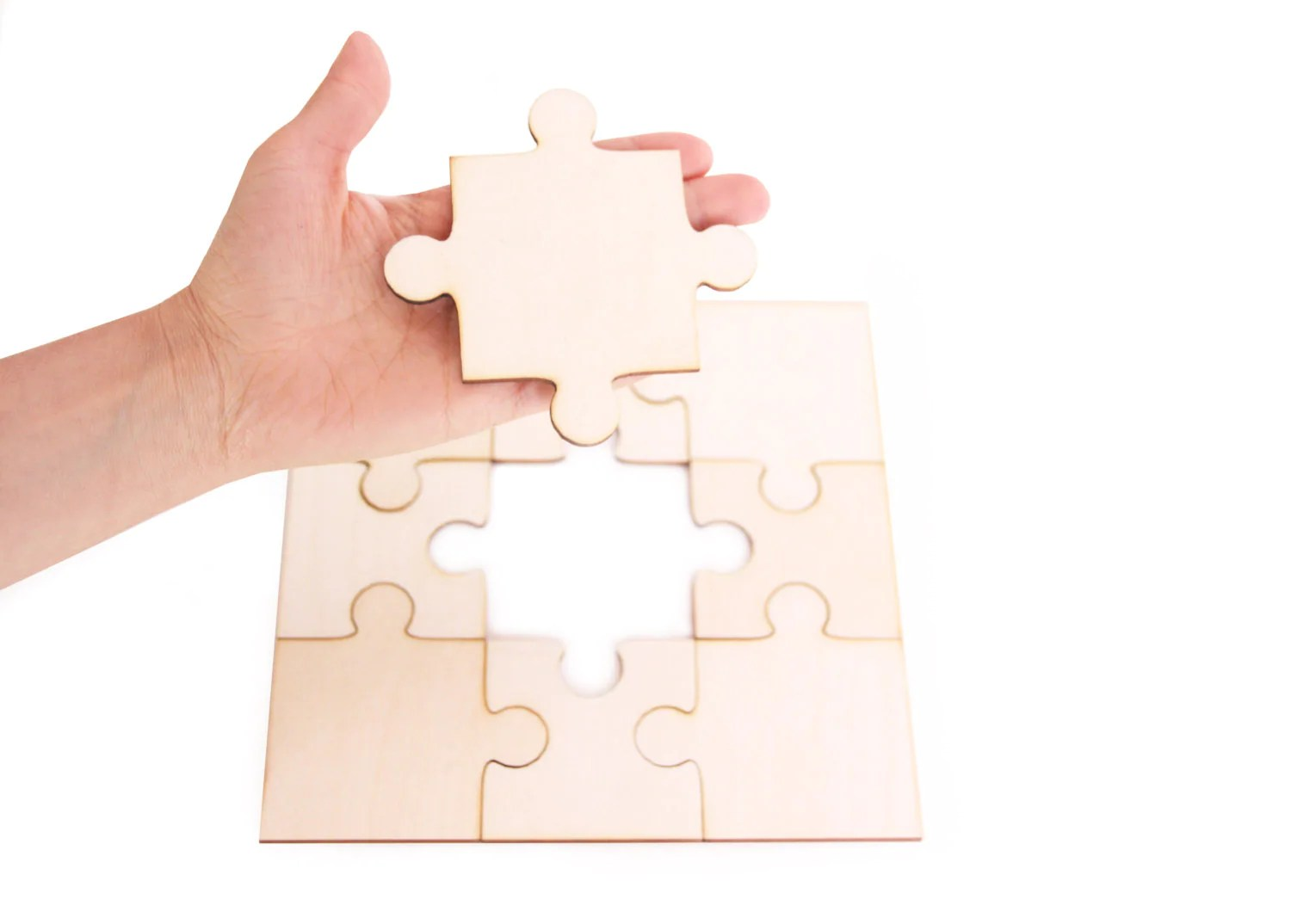 Large Wooden Puzzle Diy Blank Puzzle Wooden Toy T Ideas