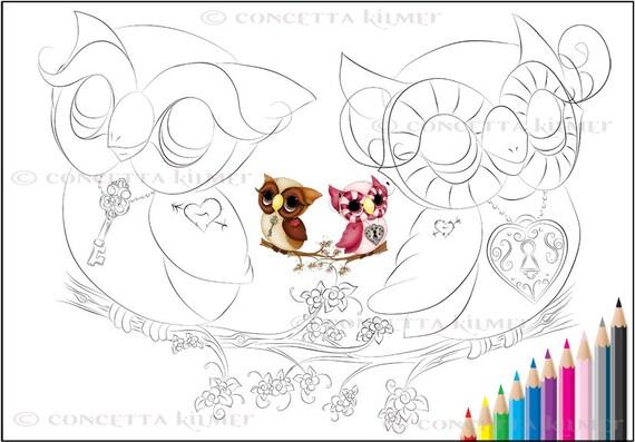 owl coloring book coloring book owl by enchantedezignstudio