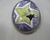 Yellow Star Glass Paperwe...