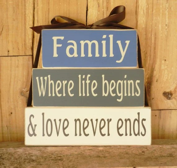 Download Family where life begins and love never ends Block Set