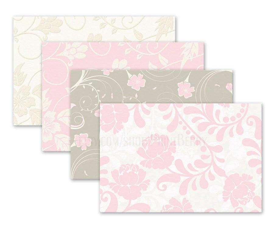 Floral Envelopes 4x6 Envelopes Printable Envelope Template