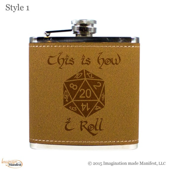 This is How I Roll- Flask