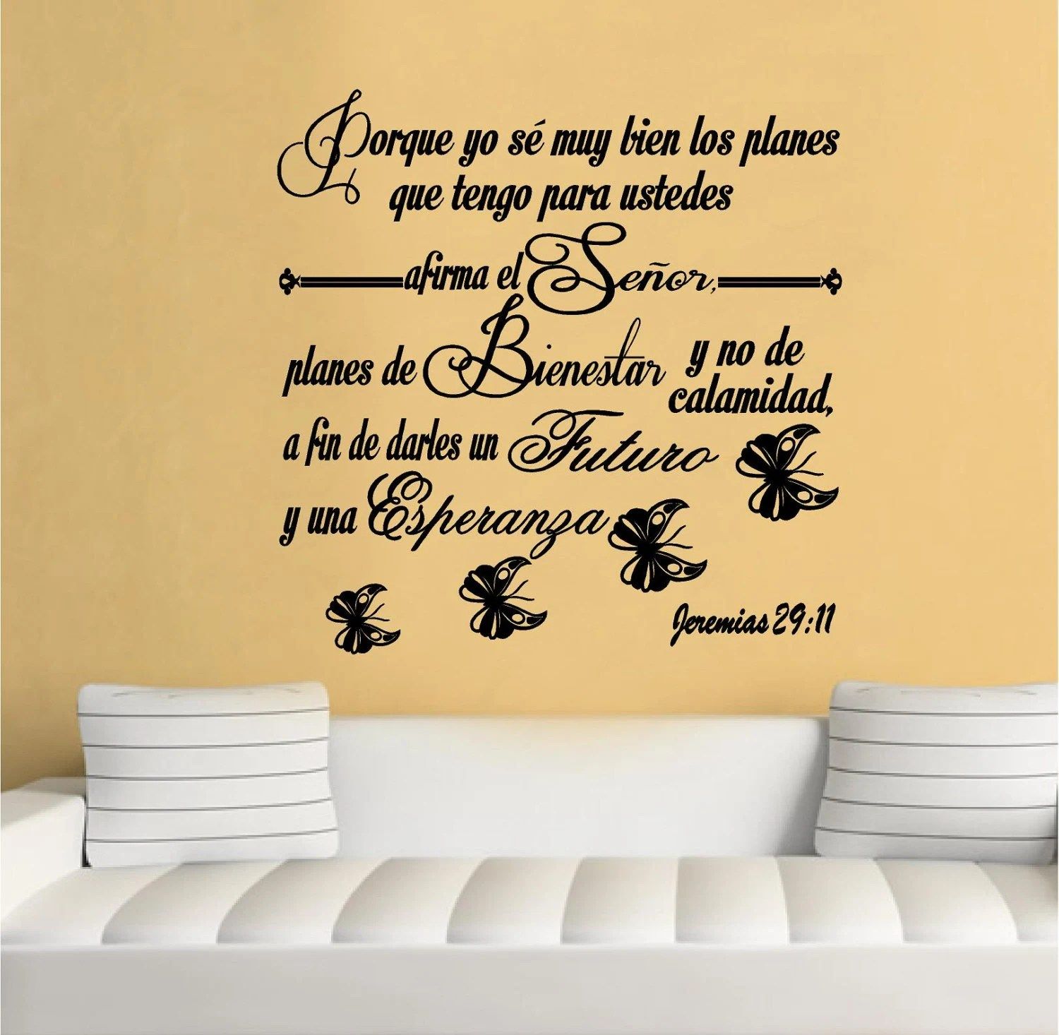 Scripture Wall Decals In Spanish