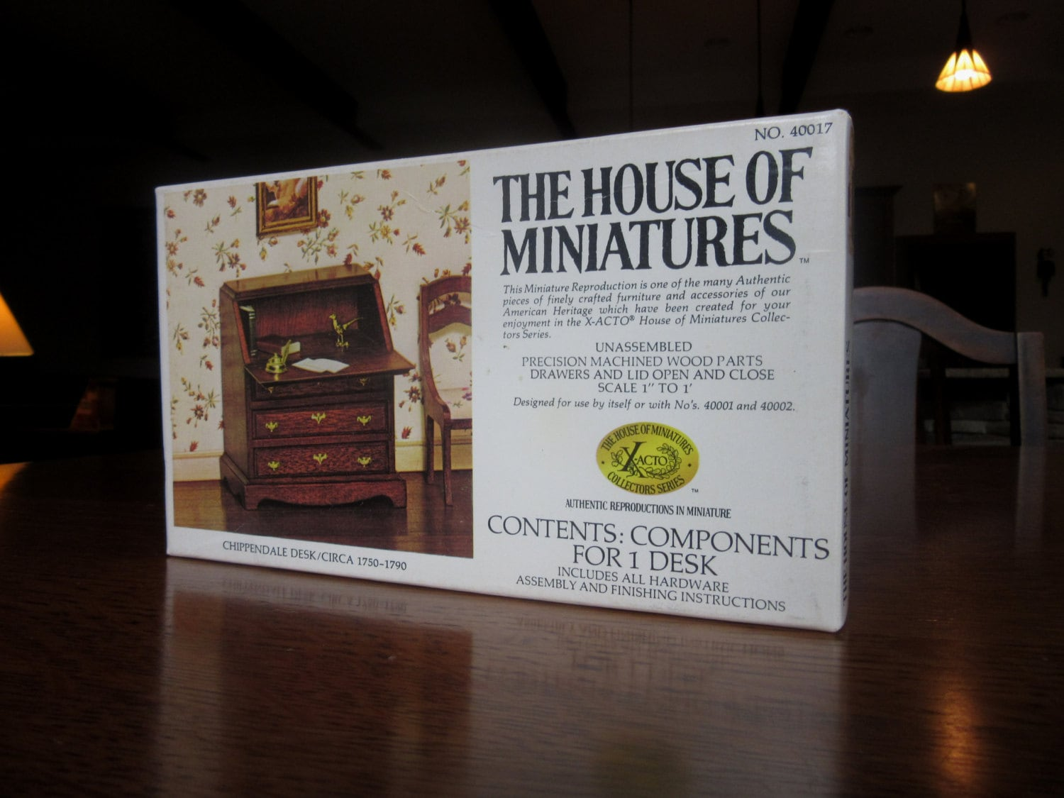 House Of Miniatures 40017 Doll House Furniture Kit