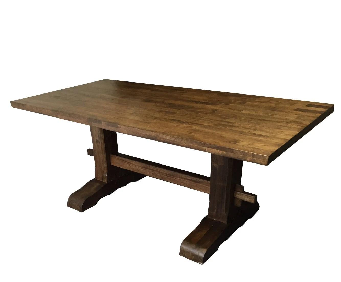 Trestle Farmhouse Table
