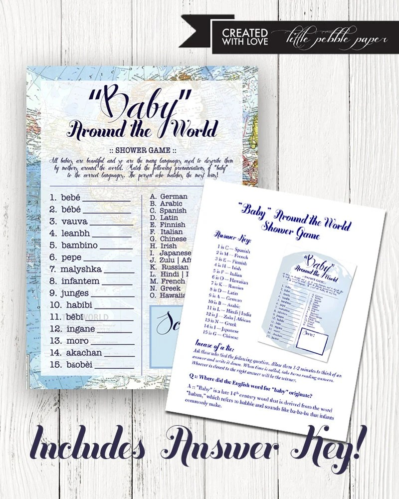 Welcome To The World Party Pack Bundle By LittlePebblePaper