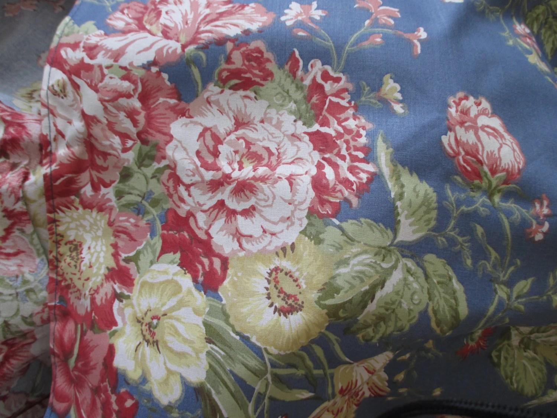 Waverly Garden Room Full Bed Skirt Cotton Shabby Chic