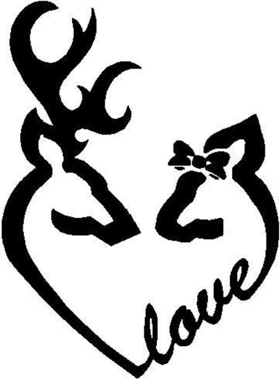 Download Deer Love by TidalWaveSigns on Etsy