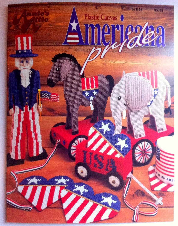 Plastic Canvas Americana