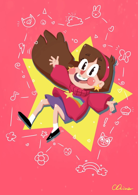 Gravity Falls Mabel Print