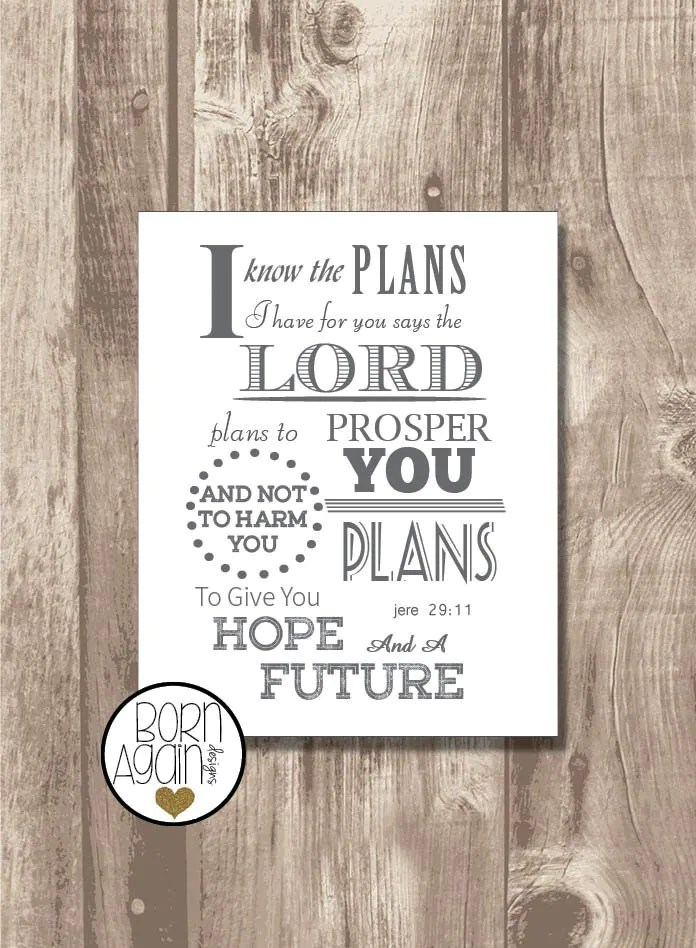 Y Have Not Plans I And You Says Plans Lord Harm Prosper Know I You
