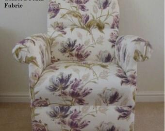 Fryetts Woodland Fox Animals Fabric Adult Chair Nursery