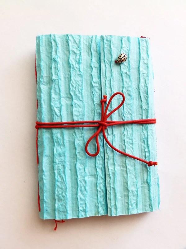 Handmade Notebook or Sketchbook, Pocket Diary, art book