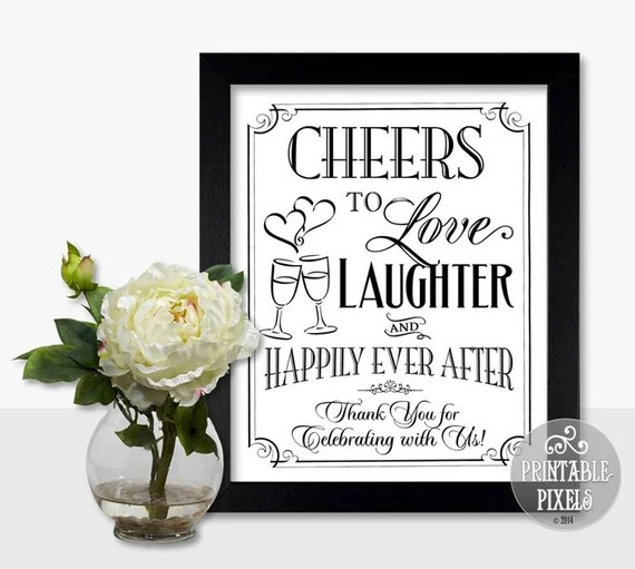 Download Cheers To Love Laughter and Happily Ever After ...