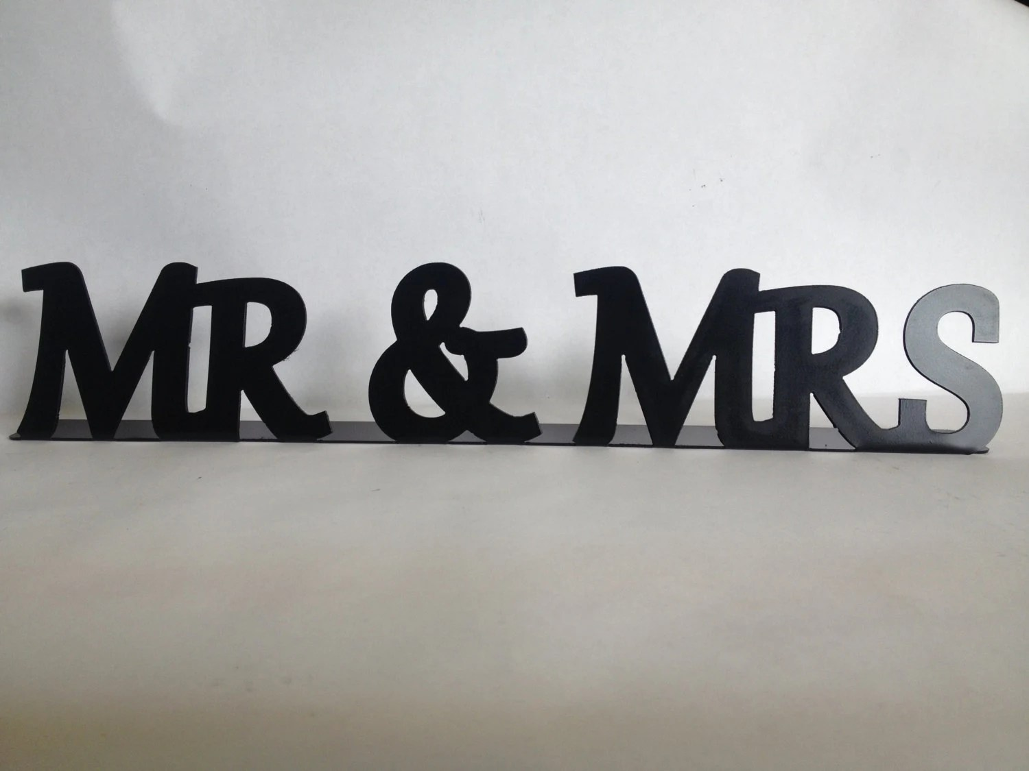 Mr And Mrs Sign Wedding Table Sign Sweetheart Table Sign Mr