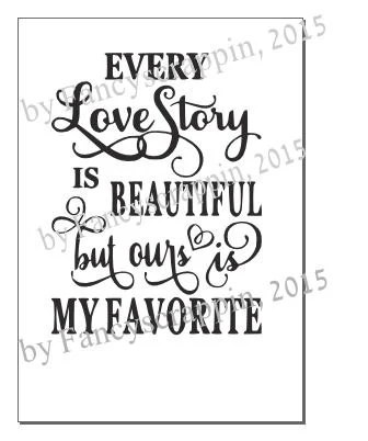 Download Every Love Story is Beautiful SVG Cutting File Vinyl